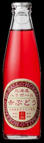 北海道ハイボール 赤ぶどう Hokkaido Highball Red Grape