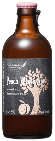 ピーチホワイトエール Fruit Brewing Peach White Ale